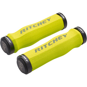 Ritchey WCS Ergo True Grip Manopole Lock-On, yellow
